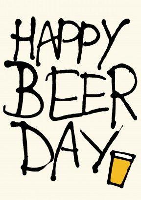 Happy Beer Day, ay no. Quería decir happy birthday | Funny beer filled Birthday Card #compartirvideos #felizcumple