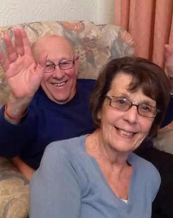 PATRONS: Leon and June Bernicoff from Channel four's Gogglebox
