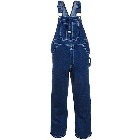 Key Clothing Kids' 226 45 Blue Cotton Denim Bib Overalls