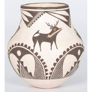 Native American Acoma Pottery Bowl by Rose Chino Garcia