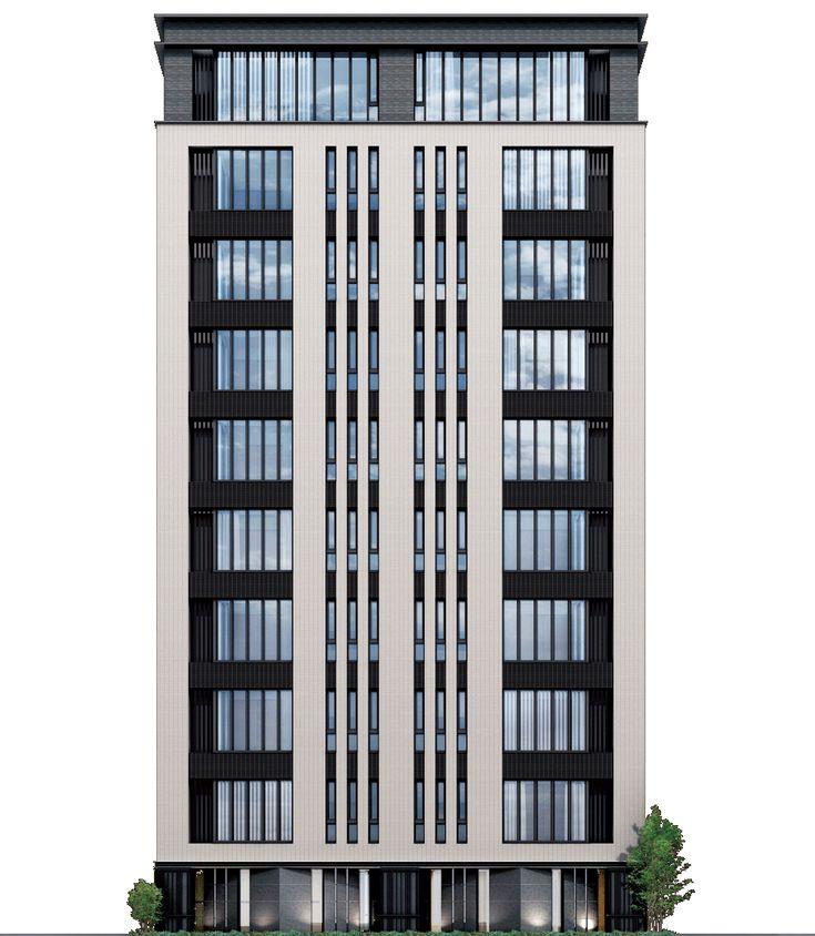 デザイン― FACADE ― ディアナコート日本橋浜町 中央区の新築分譲マンションならモリモト