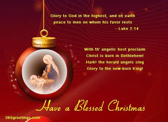15 Christmas Quotes Religious: Christian Christmas Wishes And Christian Christmas Card