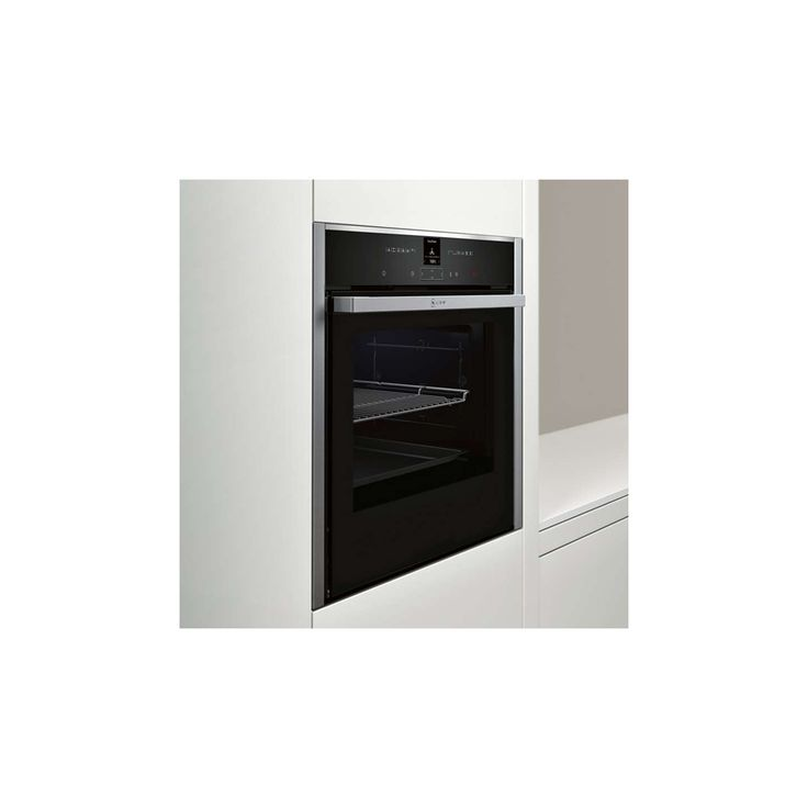 BuyNeff B57CR22N0B Pyrolytic Slide and Hide Single Electric Oven, Stainless Steel Online at johnlewis.com