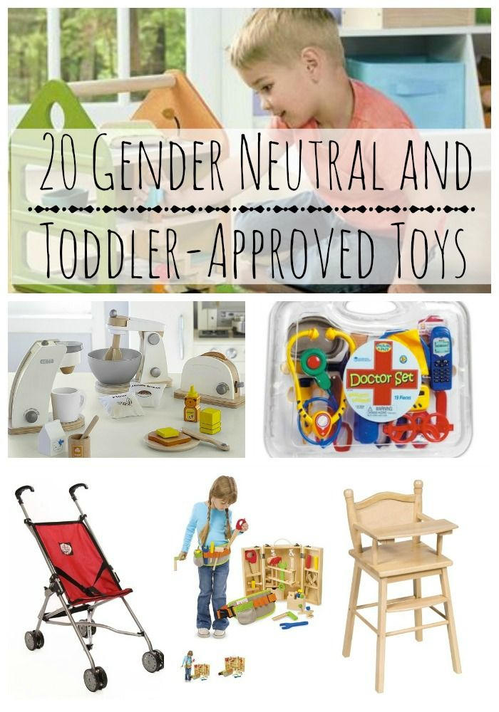 Have a little one your shopping list this year and aren't quite sure what to get them? Here are 20 gender-neutral toddler toys ideas they'll love, on Babble.