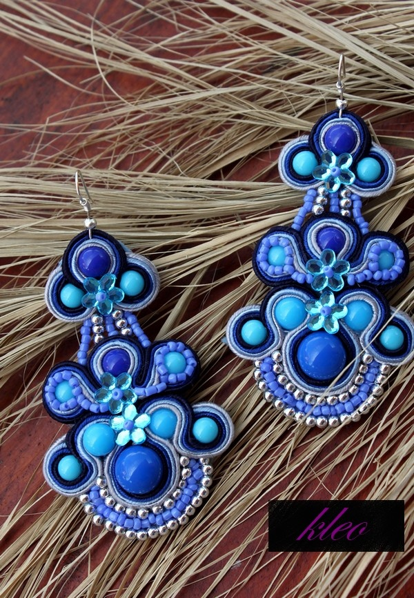 Sutasz Kleo /Soutache jewellery: Soutache JULLY