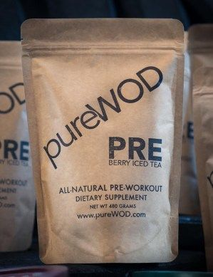 pureWOD PRE - The ONLY all natural, Paleo and Vegan friendly pre-workout supplement.  Another UK exclusive!