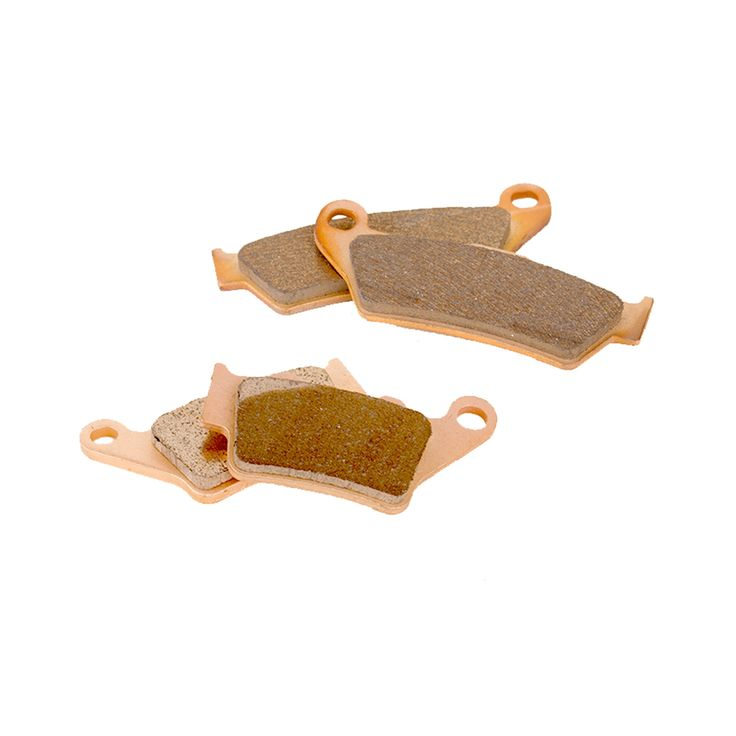 1998 - 2001 KTM 380 MXC Front and Rear Sintered Metal (Grey) Severe Duty Brake Pads