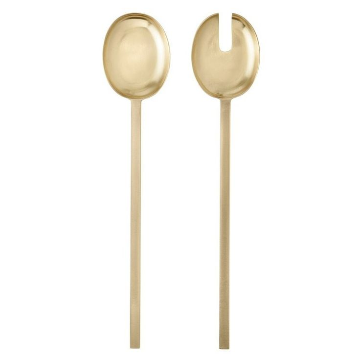 Simple yet contemporary, these luxe brass serving utensils carry a distinctive graphic edge. The Warehouse Home shop is filled with gift ideas from as little as £10