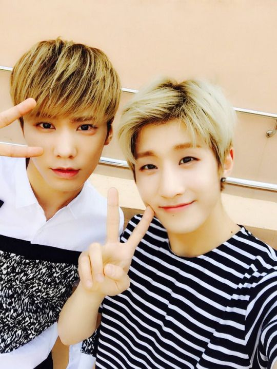 ASTRO JinJin and Rocky <3