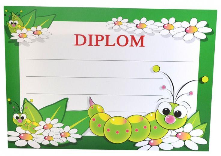 Diplom A5 - Dětský BD049