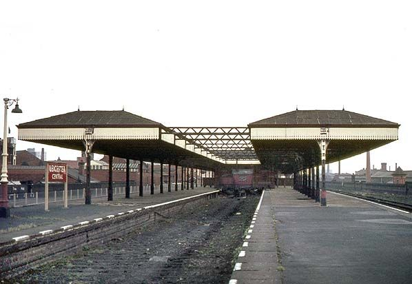Disused Stations: Leicester Central Station