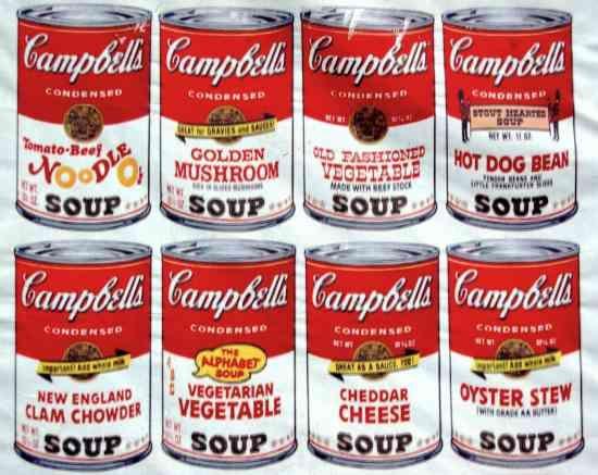 pop art andy warhol food - Google Search