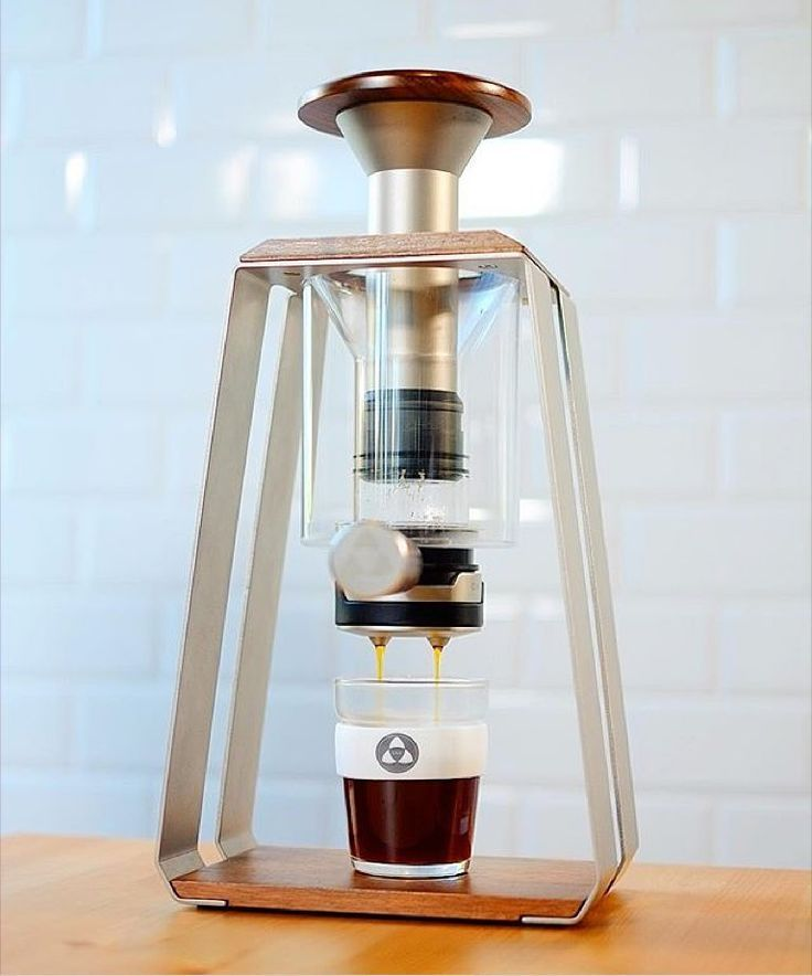 The industrial art of coffee making.