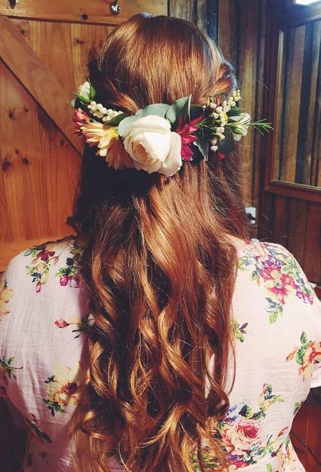 My wedding hair. #hair #wedding #thevintagetree #bohohair