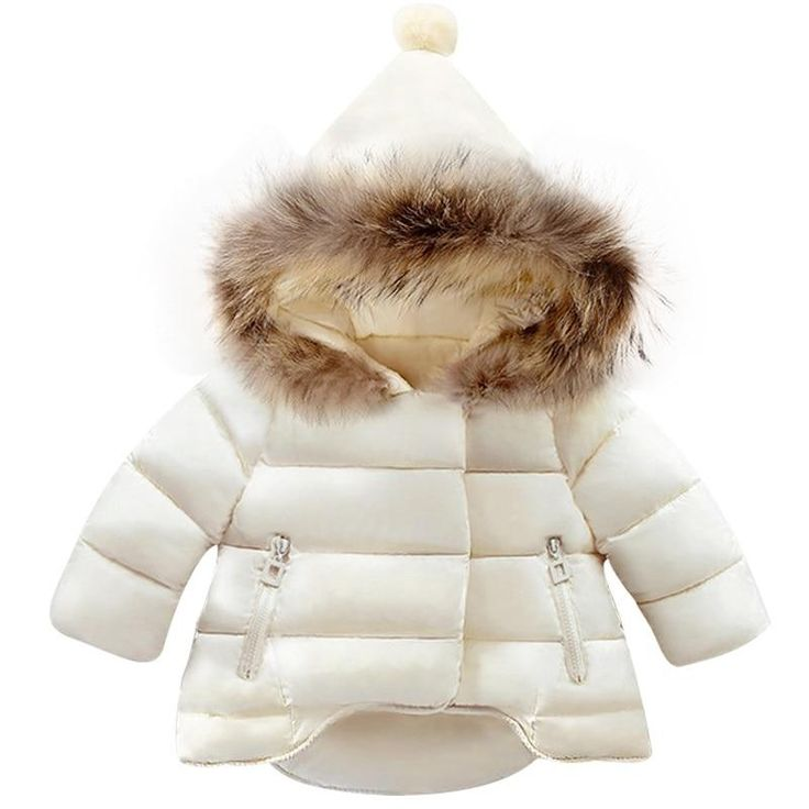 Children Coat <b>Baby Girls winter</b> Coats long sleeve coat girl's <b>warm</b> ...