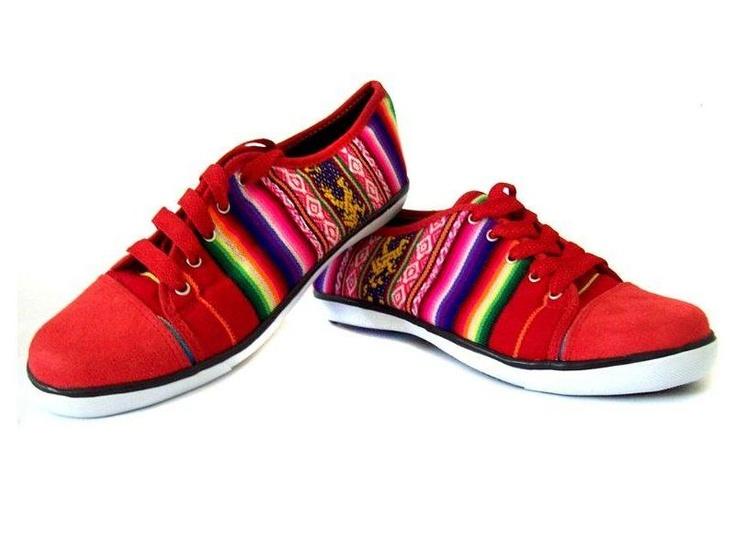Zapatillas etnicas — Comprar Zapatillas etnicas, Precio de , Fotos de Zapatillas etnicas, de Intishine Store, S.A.C.. Botas con huella doble en All.biz San Martín de Porres Peru