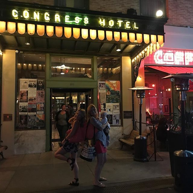 We ate dinner at this fascinating and historically significant restaurant inside the Congress Hotel in Tucson. Its where John Dillinger - an infamous gangster in the 30s - was finally captured. The food is pretty great too!