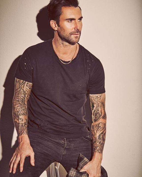 55 best adam images on pinterest maroon 5 adam levine for Maroon 5 tattoos hindu