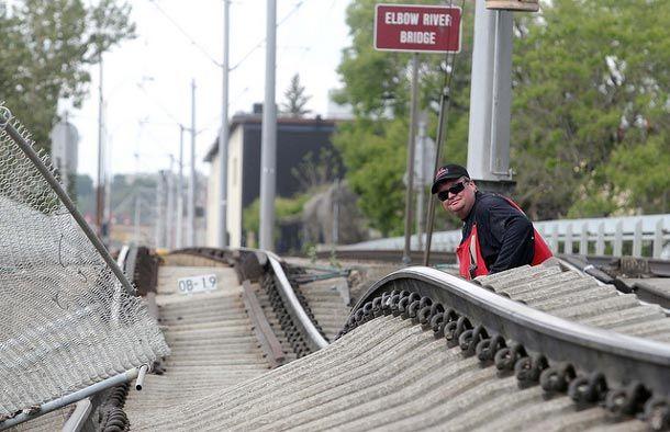 C-Train Tracks at Erlton