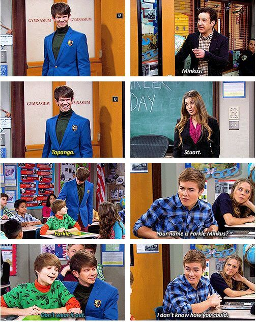 farkle girl meets world change Moments edit season 1 edit girl meets world edit farkle has a crush on maya farkle likens maya to the night farkle calls maya (and riley) his woman farkle sits behind maya.