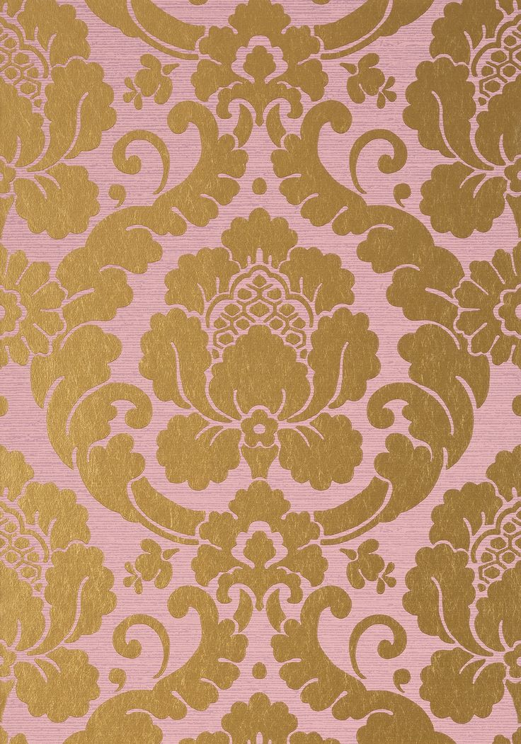 the 25  best damask wallpaper gold and pink ideas on pinterest