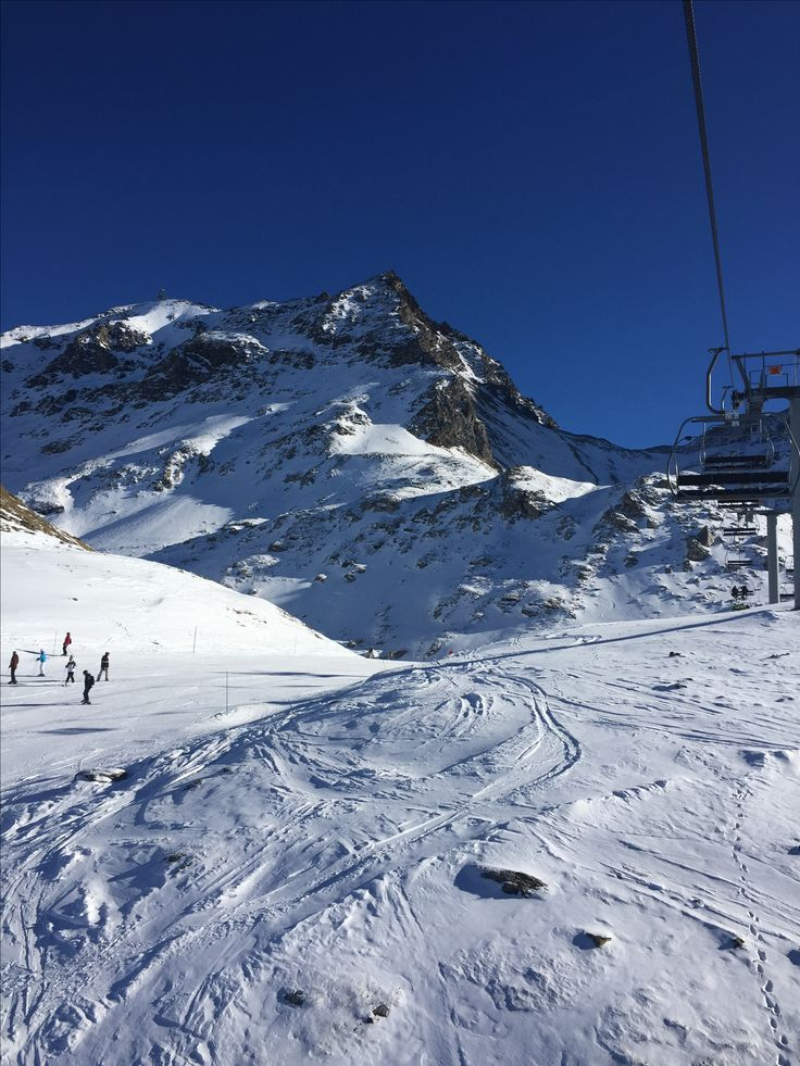 Can't beat the slopes Les Arcs