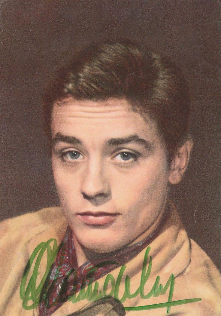 Autographe Original Alain Delon   eBay