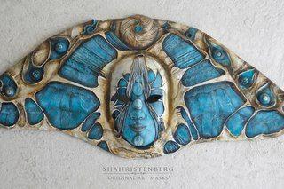 Nadine Pau - masks, dolls and ornaments.