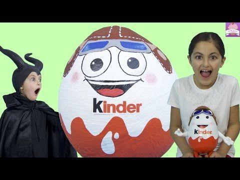 Giant kinder surprise egg 50 kinder surprises eggs frozen elsa star wars batman disney princess toys