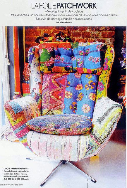 pathwork bohemian chair