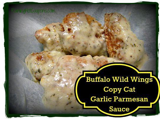 Buffalo Wild Wings Copy Cat Garlic Parmesan Sauce Recipe