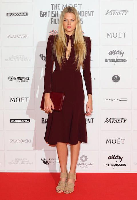 Gabriella Wilde at the British Independent Film Awards on December 9, 2012...