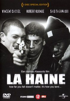 It's not important how you fall; it's how you land. -La Haine [Hate]: great, intense French film.