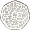 Fifty Pence coin designs // The Royal Mint