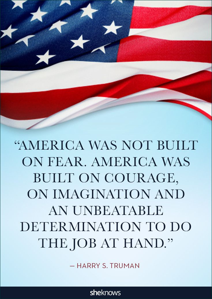 On January 8, 1947, Harry Truman said this in a message to Congress. #patriotic #Quotes #4thofjuly