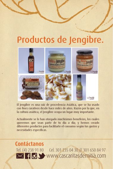 Productos de Jengibre
