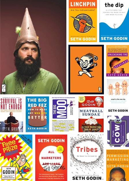 Seth Godin . . . he's got some good books.