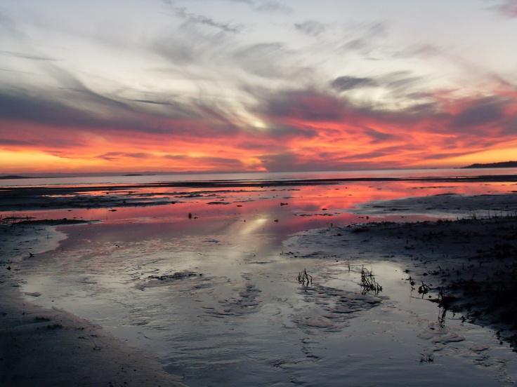 Sonnenuntergang in Kärradal Schweden