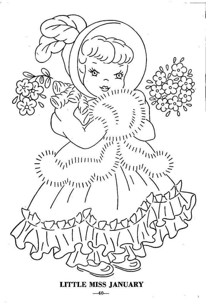 Hand Embroidery Pattern 12 Children of the Month for Quilt from 1960 Workbasket FOR SALE • $8.09 • See Photos! Money Back Guarantee. Reproduction iron on Embroidery Transfer. This design will iron on to your fabric, no transfer pen or pencil needed. Taken from a 1960s Workbasket collection. Children of the month for 381848111971