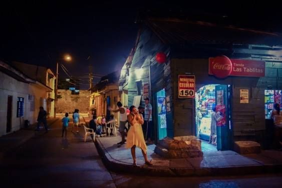 Getsemani by dusk. The Cartagena Photography Tour throws the spotlight on the locals. http://ticartagena.com/en/things-to-do/tours-experiences/snap-to-it-with-a-photo-tour-of-cartagena/