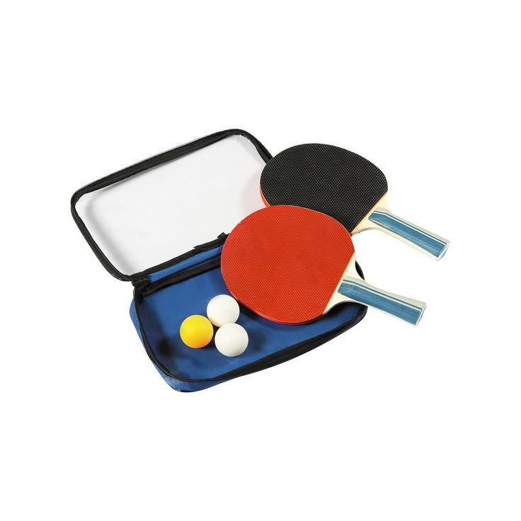 Hathaway Control Spin Table Tennis 2-Player Racket & Ball Set, Multicolor
