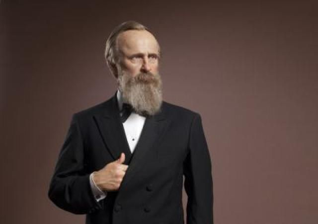 United States Presidents Gallery at Madame Tussauds DC: Rutherford B Hayes