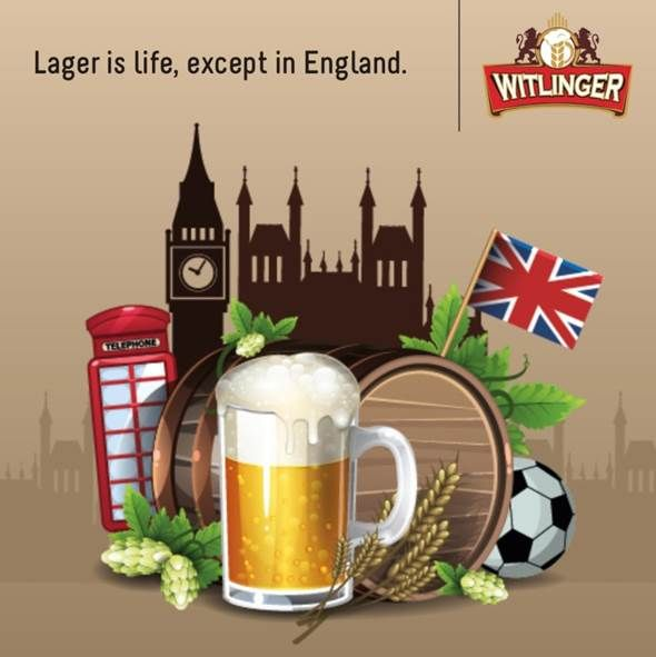 Lager beer is the more dominant beer style in the brewery world, except in England where Ale is the primary style of beer consumed. #EnglandLovesAle #WitlingerWheatAle #WitlingerBeer #WheatBeer #CraftBeer