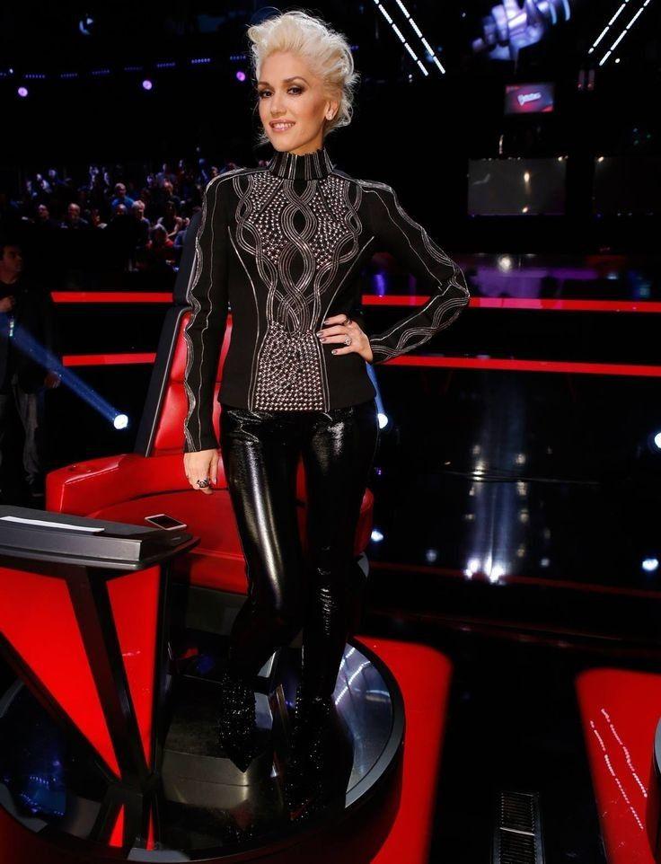 Gwen Stefani pvc leggings