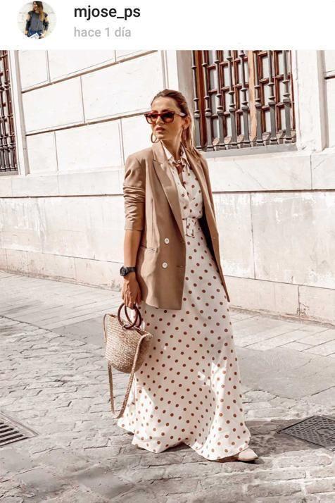 e3a908fdab Hay un nuevo vestido de lunares de Zara que arrasa entre las  influencers  ¡Atención