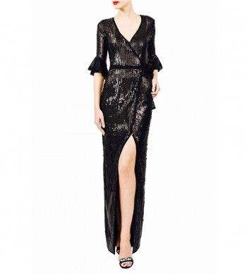 #tenuedesaf #sequindress