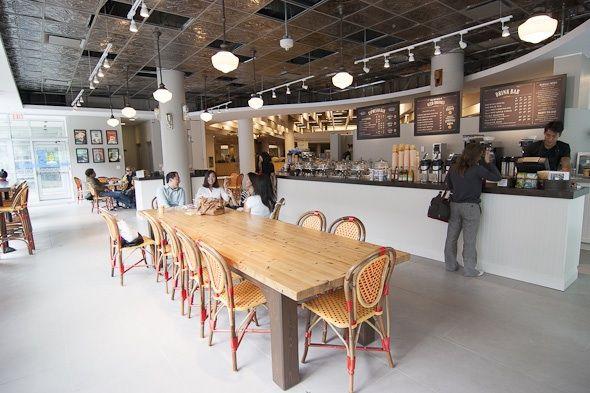 balzacs coffee shop @ toronto reference library
