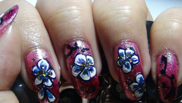 Beautiful Hand Painted Nail Art Tips and Tricks