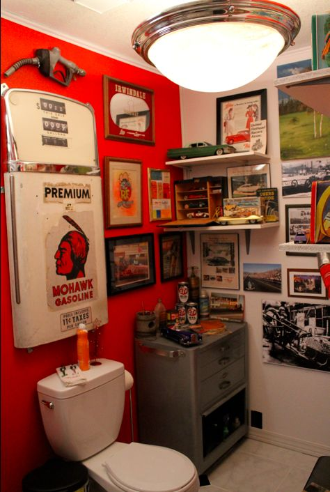 Cool Spare Bathroom For A Rec Room The Home Man Cave Garage