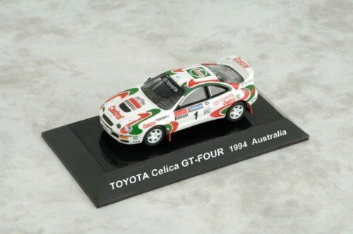 Japan CM's 1/64 Rally Car Collection SS12 TOYOTA Celica GT-FOUR No. 1 Australia 1994 Die-cast Figure